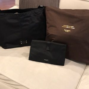 Kate Spade Diaper Bag with matching changing pad
